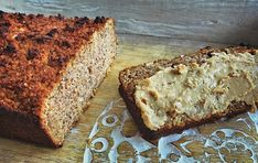 Healthy breakfast loaf – gluten, wheat, dairy and refined sugar free