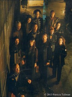 Cast of Babylon 5, the later years.
