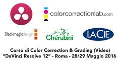 """Corso a Roma su DaVinci Resolve 12.5, maggio 2016. Corso base Color Correction & Grading con """"DaVinci Resolve 12.5"""", tenuto da Daniele Paglia."""