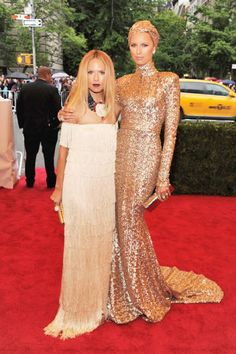 Met Gala 2012 Red Carpet Fashion - Celebrities, Models, and Designers at the 2012 Costume Institute Gala - ELLE