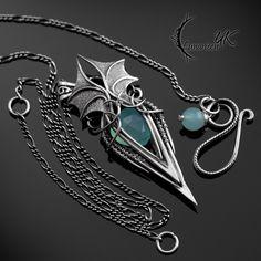 MYTHNRIALL - Silver and Chalcedony by LUNARIEEN.deviantart.com on @DeviantArt