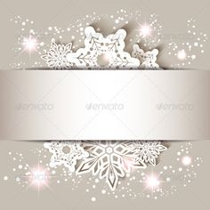 Christmas Star Snowflake Greeting Card on VectorStock Christmas Frames, Christmas Snowflakes, Christmas Star, Victorian Christmas, Christmas Quotes, Christmas Design, Vintage Christmas, Christmas Cards, Christmas Decorations