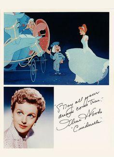 Ilene Woods voice of Cinderella