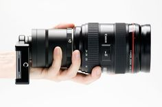 iPhone SLR mounts. Allows you to attach Nikon and Canon lens to your iPhone.