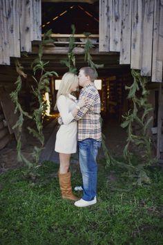 Christmas Engagement Shoot byMelissa McCrotty Photography