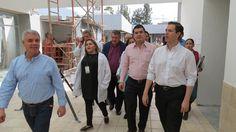 Juan Evel Chávez Trovamala recorrió las obras que beneficiarán a más de 25 mil derechohabientes de la región; la primera etapa registra un avance del 95% – Sahuayo, Michoacán, 22 ...