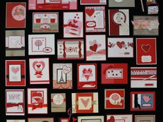 Valentine Card ideas from the 2011 Stampin' Up! convention