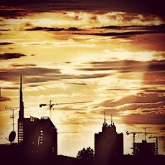 Skyline di Milano {2012} by Stefano Rho