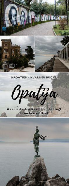 Opatija - Winterurlaub in der kroatischen Küstenstadt, Hotelempfehlung, schönste Plätze in Opatija und viele Fotos