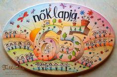 Tisztelettel a 65 éves Nők Lapja csapatának! Decorative Plates, Tableware, Home Decor, Dinnerware, Decoration Home, Room Decor, Tablewares, Dishes, Home Interior Design