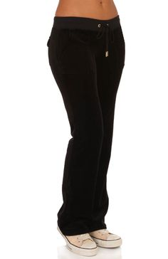 Alyssa Milano wears Velour Original Leg Drawstring Pant ()