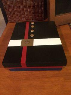 usmc custom wooden rank insignia plaque usmc retirement With marine letter box