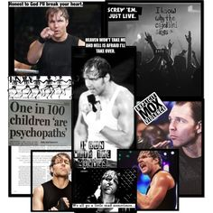 I'm not big on collages but this is one of the best mod/Ambrose I've seen
