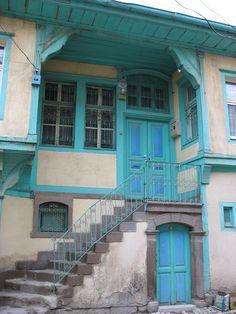 Afyon,Ottoman houses.