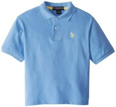 U.S. Polo Assn. Boys 8-20 Solid Pique Polo, http://www.amazon.com/dp/B00CBDZTA0/ref=cm_sw_r_pi_awdm_-H7qtb1XRZJZP