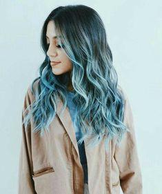 Cabelos ondulados e coloridos ,curl hair.