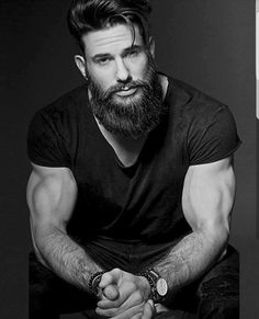 Beard Balm Leave-in Conditioner with Natural Bees Wax, Jojoba & Argan Oil - Styles, Softens, Strengthens & Thickens for Healthier Beard Growth & Mustache - 2 oz - The B. Beard Styles For Men, Hair And Beard Styles, Hair Styles, Beard Growth, Awesome Beards, Beard Tattoo, Tattoo Man, Beard Balm, Beard No Mustache