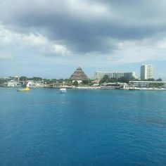 Beautiful #Cozumel #Mexico that giant hut I'd the park royal resort. Such an amazing place!