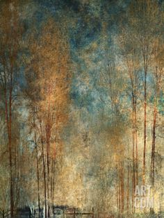 Long Ago by Lydia Marano color inspiration Framed Art, Art Painting, Art Photography, Abstract Landscape, Tree Art, Abstract Painting, Abstract Art, Abstract, Beautiful Art