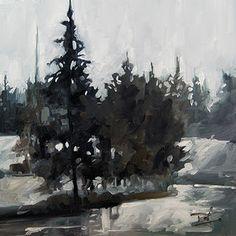 No. 410 Winter Creek by Robin J. Mitchell