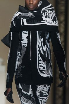 Rick Owens at Paris Fashion Week Fall 2014 - Details Runway Photos