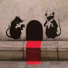 Banksy.... señor presidente se postulara de nuevo a la presidencia