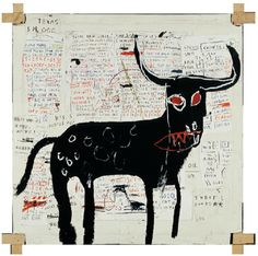 Jean-Michel Basquiat (December 22, 1960 – August 12, 1988) was an American artist.  He began as a graffiti artist in New York City in the late 1970s and evolved into a Neo-expressionist painter during the 1980s