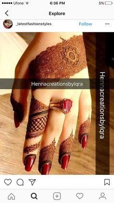 Kashee's Mehndi Designs, Mehndi Designs For Beginners, Mehndi Design Pictures, Wedding Mehndi Designs, Mehndi Designs For Fingers, Mehndi Patterns, Latest Mehndi Designs, Henna Tattoo Designs, Mehndi Images