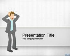 Stress Management PowerPoint Template is a free premium PowerPoint template with an original illustration in the master slide that you can download for presentations on stress management