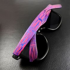 Add some extra POP to a plain pair of sunglasses with nail polish you already have.