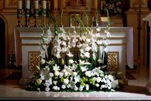 dekoracja kościoła tania