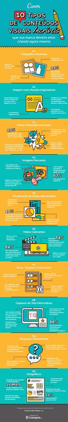 Conteúdo visual: infográfico mostra como fortalecer a sua marca
