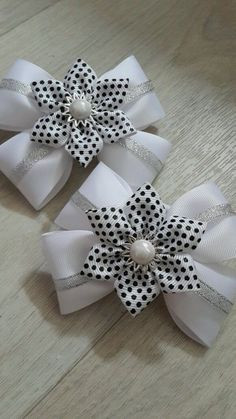 Ideas diy baby headbands and bows ribbon Ribbon Hair Bows, Diy Hair Bows, Diy Bow, Diy Ribbon, Ribbon Work, Ribbon Crafts, Diy Crafts, Diy Baby Headbands, Baby Bows
