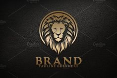 Lion Head V.4 by herulogo on @Graphicsauthor