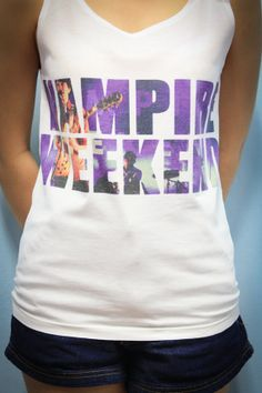 Vampire Weekend Rock Band Shirt Tank Top Tanktop by LuvTankTop