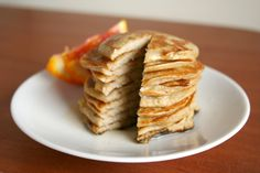 the three ingredient pancake. Healthy and delish!