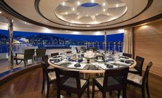 Super yacht Dining Room -Seatech Marine Products & Daily Watermakers