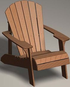 Lifetime Adirondack Chair   Model 60064 Patio Furniture (Polystyrene)