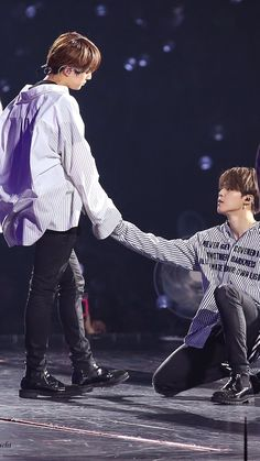 Oh. I think that this is Jikook. Buuuuut~ fanservice Jinmin, armys ^-^