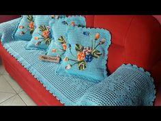 Image gallery – Page 572238696400258312 – Artofit Crochet Cushion Cover, Crochet Cushions, Crochet Pillow, Crochet Bedspread Pattern, Granny Square Crochet Pattern, Crochet Furniture, Designer Bed Sheets, Crochet Towel, Crochet Table Runner