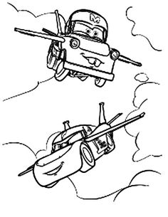 Tow mater coloring pages