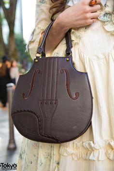 Lolita Violin Handbag Brand- Innocent World Handmade Handbags & Accessories - http://amzn.to/2ij5DXx