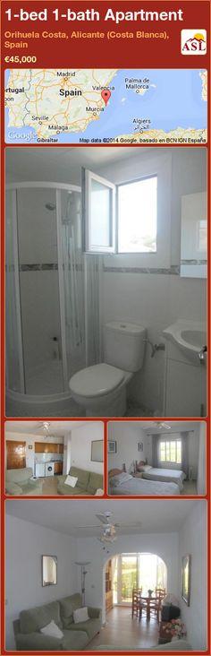 1-bed 1-bath Apartment in Orihuela Costa, Alicante (Costa Blanca), Spain ►€45,000 #PropertyForSaleInSpain