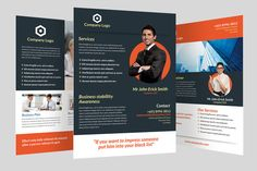 Business Flyer by graphicstall on Creative Market