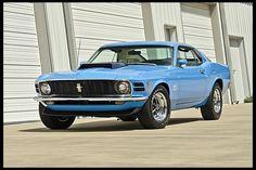 1970 Ford Mustang Boss 429 Fastback KK #2145, 6,000 Miles  #Mecum #Monterey