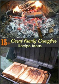 15+ Great Family Campfire Recipe Ideas #ad
