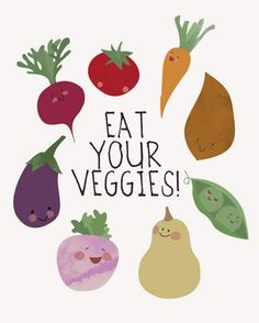 there are lots of yummy ways to eat veggies! plus they're good for you!