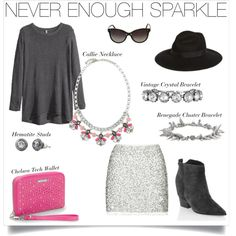 There's Never Enough Sparkle when you style your winter outfit with Stella & Dot!