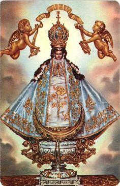 Nuestra Señora de San Juan de los Lagos A vintage holy card from the shrine of…