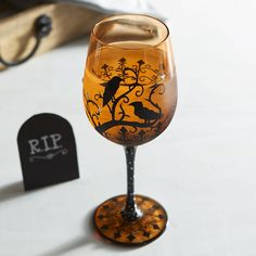 A big goblet full of your favorite beverage makes Halloween the happiest…